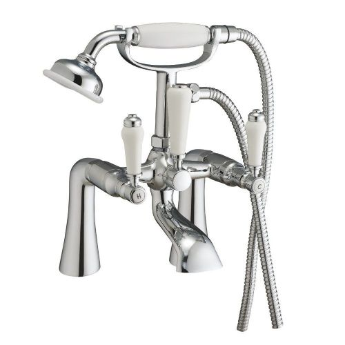Otra Chrome Bath Shower Mixer & Shower Kit